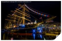 RRS Discovery Dundee., Print