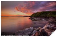 Portencross Sunset, Print