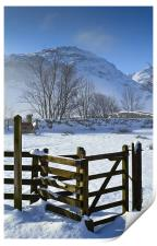 Pike Of Blisco In Winter, Print