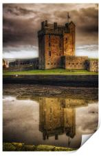 Broughty Castle, Print