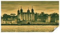 Tower of London, Print
