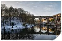 Knaresborough Reflectiions, Print
