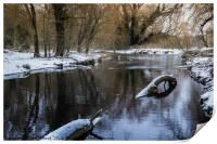 The River Cray, Print