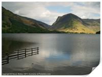 Buttermere and Fleetwith Pike., Print