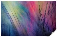 Tropical Feather Abstract, Print