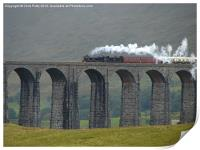 Ribblehead Viaduct, Settle and Carlisle, Print