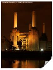 Battersea Power Station, London , Print