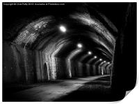 Chee Tor No1 Tunnel, Derbyshire, Monsal Trail, Print