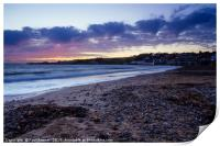 Swanage in Winter, Print