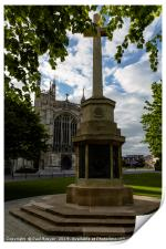 Gloucester Cathedral in Spring, Print