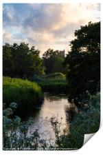 The River Frome, Print