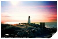 The Lighthouse, Print