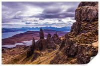 The Old Man of Storr, Print