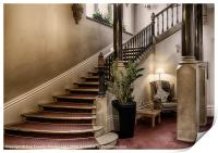 THE GRAND STAIRCASE, Print