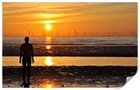another place anthony gormley, Print