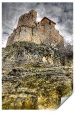 Castle of Calafell, Print