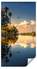 Sunrise on the Grand Canal, Print