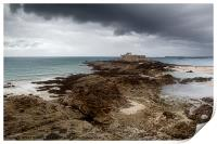 Fort National, St. Malo, France, Print
