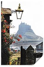 On The Way To Lindisfarne Castle, Print