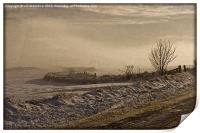 Winters Way - Scotland, Print