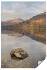 Welsh Mountain Reflections, Print