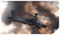 Apache Attack Helicopter, Print