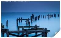 Swanage Old Pier , Print