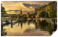 Marlow Late Afternoon, Print