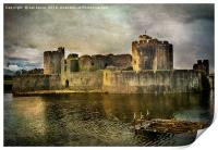 Caerphilly's Stronghold, Print