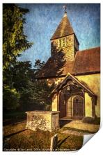 St Laurence Church Tidmarsh, Print