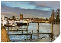 Henley on Thames Riverside, Print