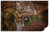 Autumnal Towpath, Print