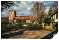 Holy Trinity Church Cookham, Print