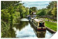 The Oxford Canal At Thrupp, Print