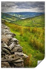 Windermere from The Kirkstone Pass, Print