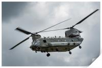 RAF Chinook helicopter, Print