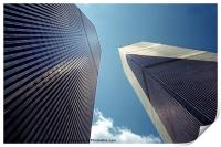 The Twin Towers - Homage To 9/11, Print