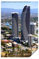 High Rise at Surfers Paradise, Print