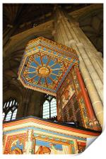 The Pulpit, Canterbury Cathedral, Print