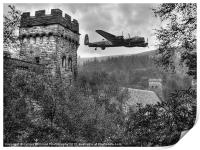 A Tribute To The Dam Busters, Print