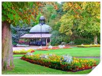 The Valley Gardens - Harrogate, Print