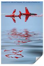Synchro Reflections - Dunsfold 2013, Print