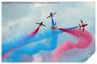 The Red Arrows Gypo Break - Dunsfold 2014, Print