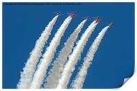 The Red Arrows RIAT 2015 8, Print