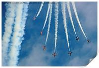 Red Arrows Eastbourne 3, Print