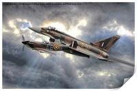 Spitfire and Typhoon Battle of Britain 2, Print