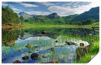 Blea Tarn,Lake District, Print