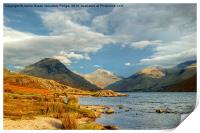 Wastwater In January, Print