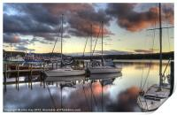 boats at rest, Print