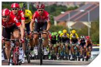 Tour of Britain Cycle Race 2015, Print
